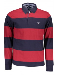 Polo Gant rugby - navy red