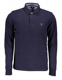 Polo Gant rugby - navy solido