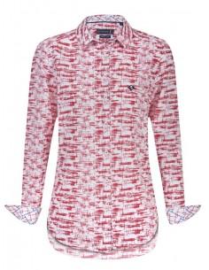 Camisa Sir Raymond Tailor - Estampada roja