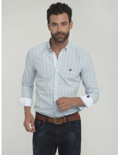 Camisa Sir Raymond Tailor - sky blue