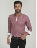 Camisa Sir Raymond Tailor - Burdeos