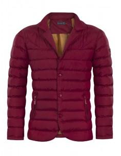 Sir Raymond Tailor chaqueta blazer acolchada - burdeos