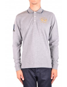 La Martina jersey polo oxford - gris