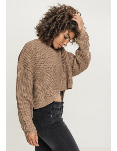 Urban Classics - Jersey oversize - taupe