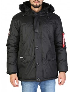 Parka Geographical Norway Dagobert - black