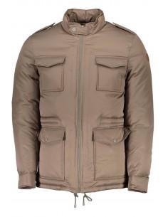 Trussardi chaqueta plumón para hombre - marrón