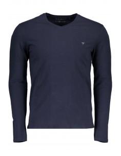 Camiseta Guess para hombre manga larga - navy