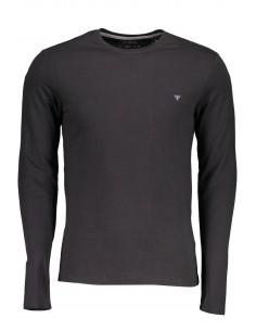 Camiseta Guess para hombre manga larga - negro