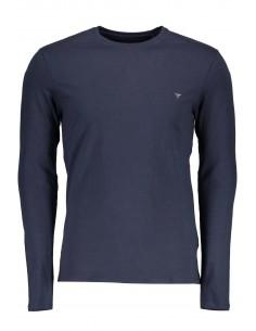 Camiseta Guess para hombre manga larga - marino