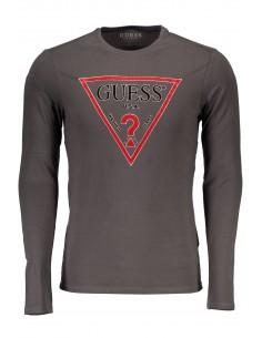 Camiseta Guess para hombre manga larga - gris