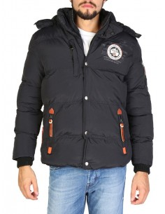 Anorak Geographical Norway Verveine - black