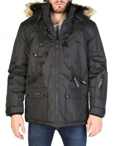 Parka Geographical Norway Chirac - black