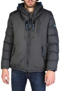 Anorak Geographical Norway Beachwood - darkgrey