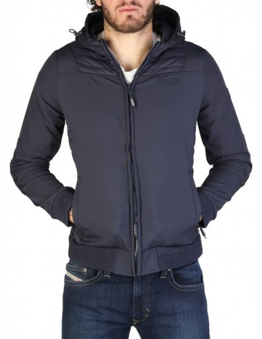 Bomber Geographical Norway en softshell Chaleur - navy