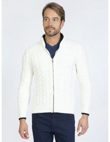 Cardigan Sir Raymond tricot - crudo