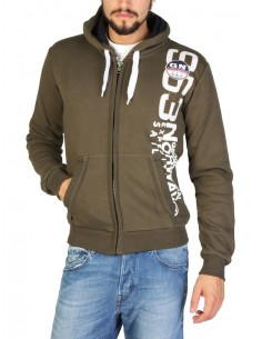 Sudadera Geographical Norway - Gandinsky - kaki