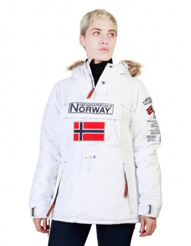 Parka canguro Geographical Norway - boomera white