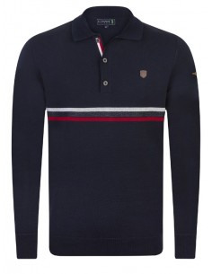 Sir Raymond Tailor jersey cuello polo - navy