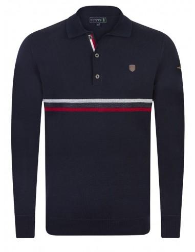 Sir Raymond Tailor jersey cuello polo - navy