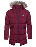 Sir Raymond Tailor chaquetón largo de invierno - granate