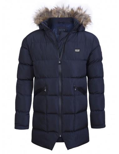 Sir Raymond Tailor chaquetón largo de invierno - marino