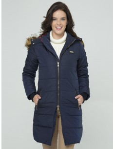 Parka larga Sir Raymond Tailor - navy
