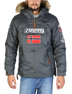 Canguro Geographical Norway Boomerang - darg grey