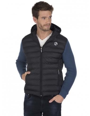 Sir Raymond Tailor chaqueta con capucha combinada - navy