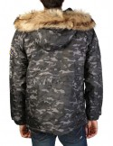 Canguro Geographical Norway Boomerang - camoblack