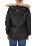 Parka canguro Geographical Norway - boomera black