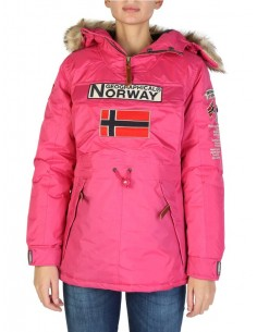 Parka canguro Geographical Norway - boomera fuxia
