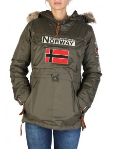 Parka canguro Geographical Norway - boomera kaki