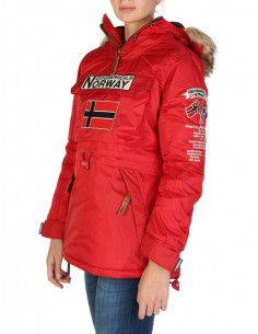 Parka canguro Geographical Norway - boomera red