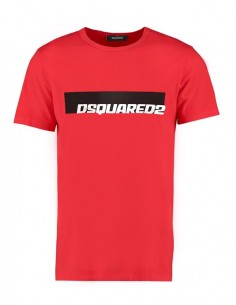 Camiseta dsquared roja