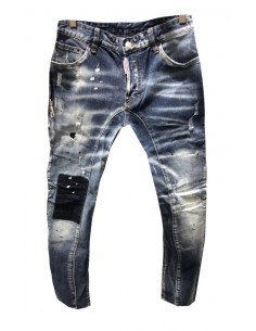 Dsquared jeans biker - blue