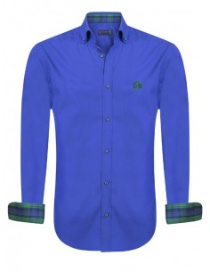 Camisa Sir Raymond Tailor - royal blue