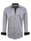 Camisa Sir Raymond Tailor - grey fantasy