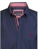 Camisa Sir Raymond Tailor - navy red