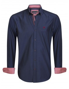 Camisa Sir Raymond Tailor - navy red