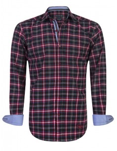 Camisa Sir Raymond Tailor - red check