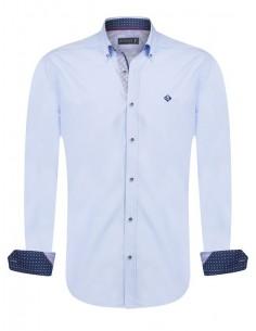 Camisa Sir Raymond Tailor - blue detalles