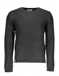 Fred Mello jersey para hombre en cuello redondo - gris
