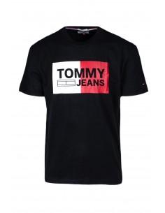 Camiseta Tommy jeans oversize - black