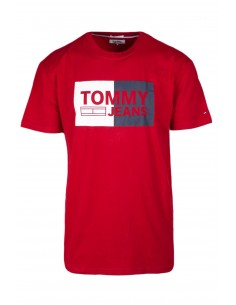 Camiseta Tommy jeans oversize - red