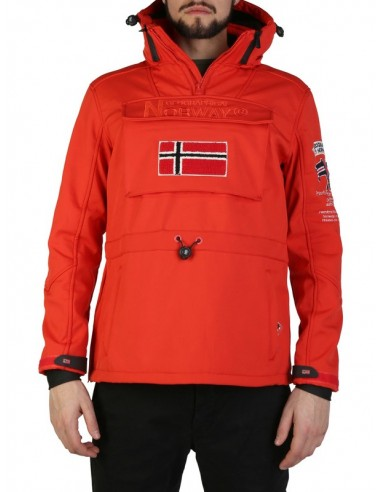 Canguro Geographical Norway en softshell - red