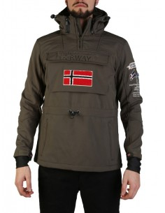 Canguro Geographical Norway en softshell - green