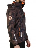 Bomber Geographical Norway en softshell Chaleur - black