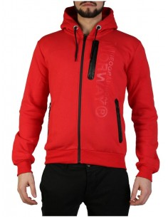 Sudadera Geographical Norway - Fascarade red