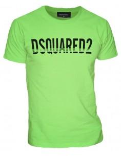 Camiseta dsquared apple green con logo