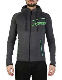 Sudadera Geographical Norway - Goltan grey green